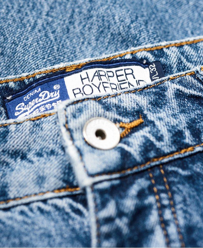In Urban Superdry Womens Boyfriend Harper Indigo Jeans qWFFT7ncw
