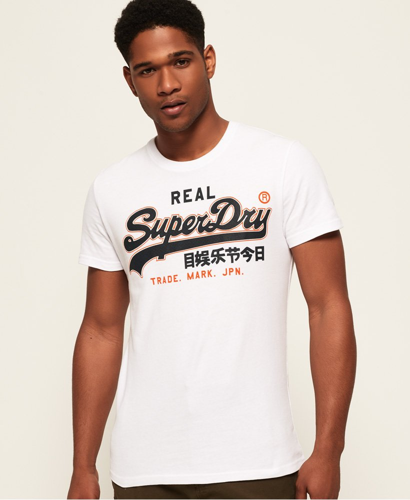 Superdry Vintage Logo T Shirt Herren T Shirts