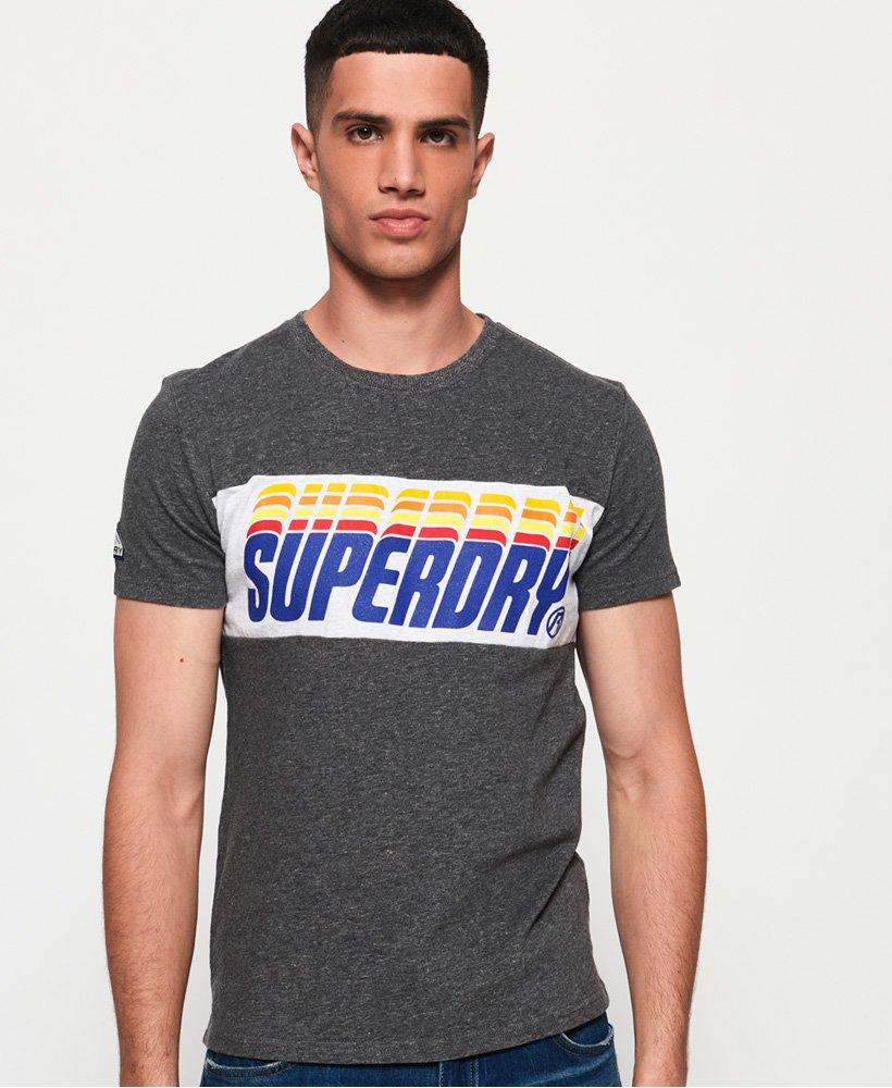 Superdry T-shirt à empiècement Triple Drop Pop thumbnail 1