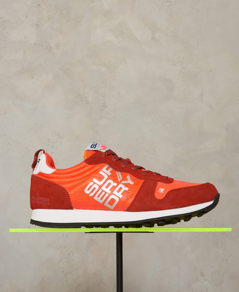 Superdry Street Sport Neon Runner Trainers thumbnail 1