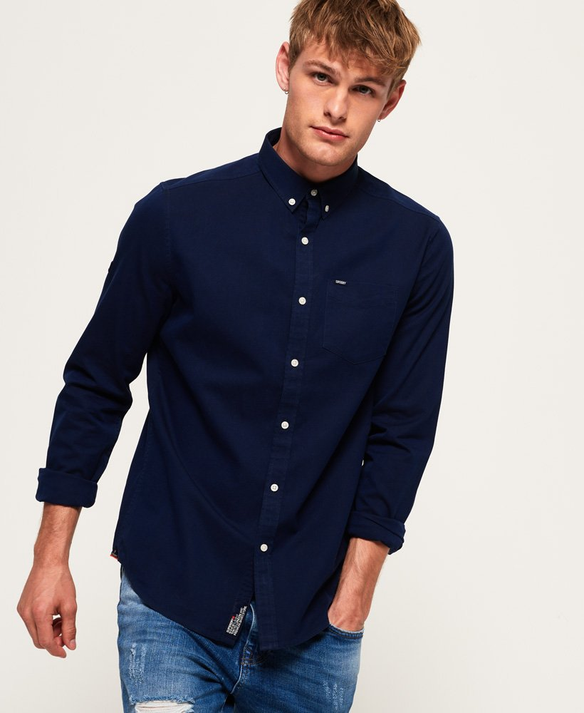 Superdry Ultimate Herringbone Shirt thumbnail 1