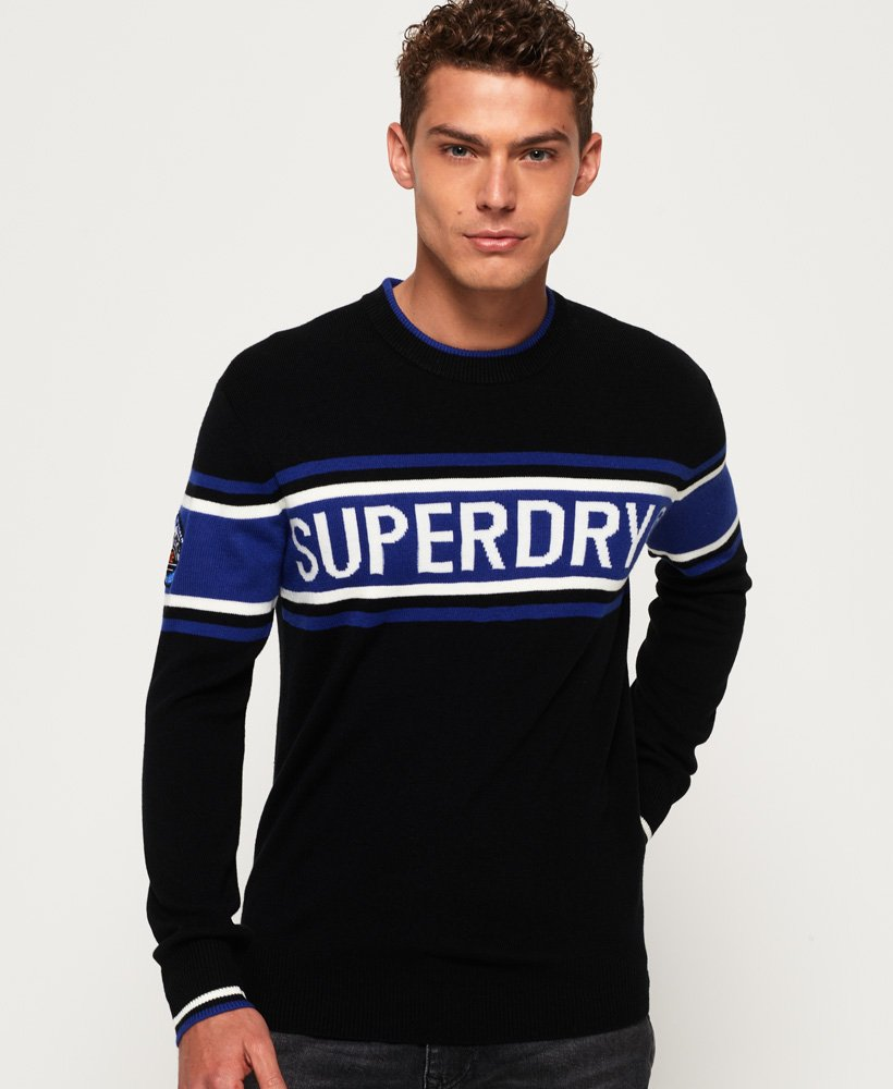 Superdry Oslo Racer Crew Jumper thumbnail 1