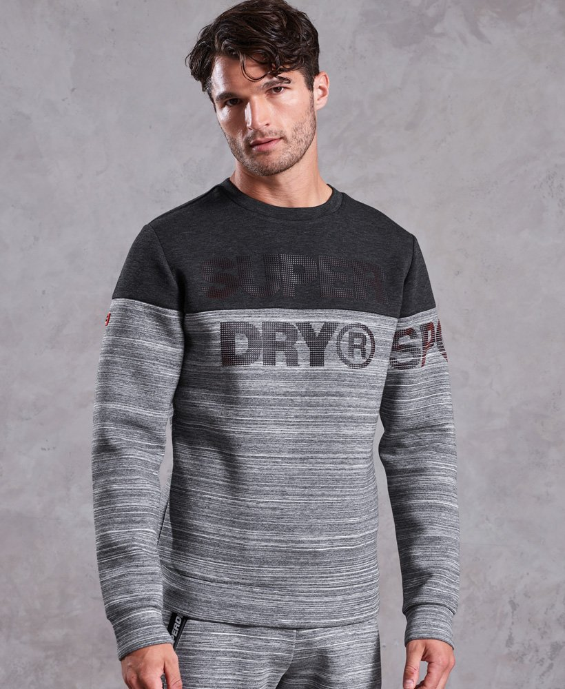 Superdry Sudadera de cuello redondo Gym Tech