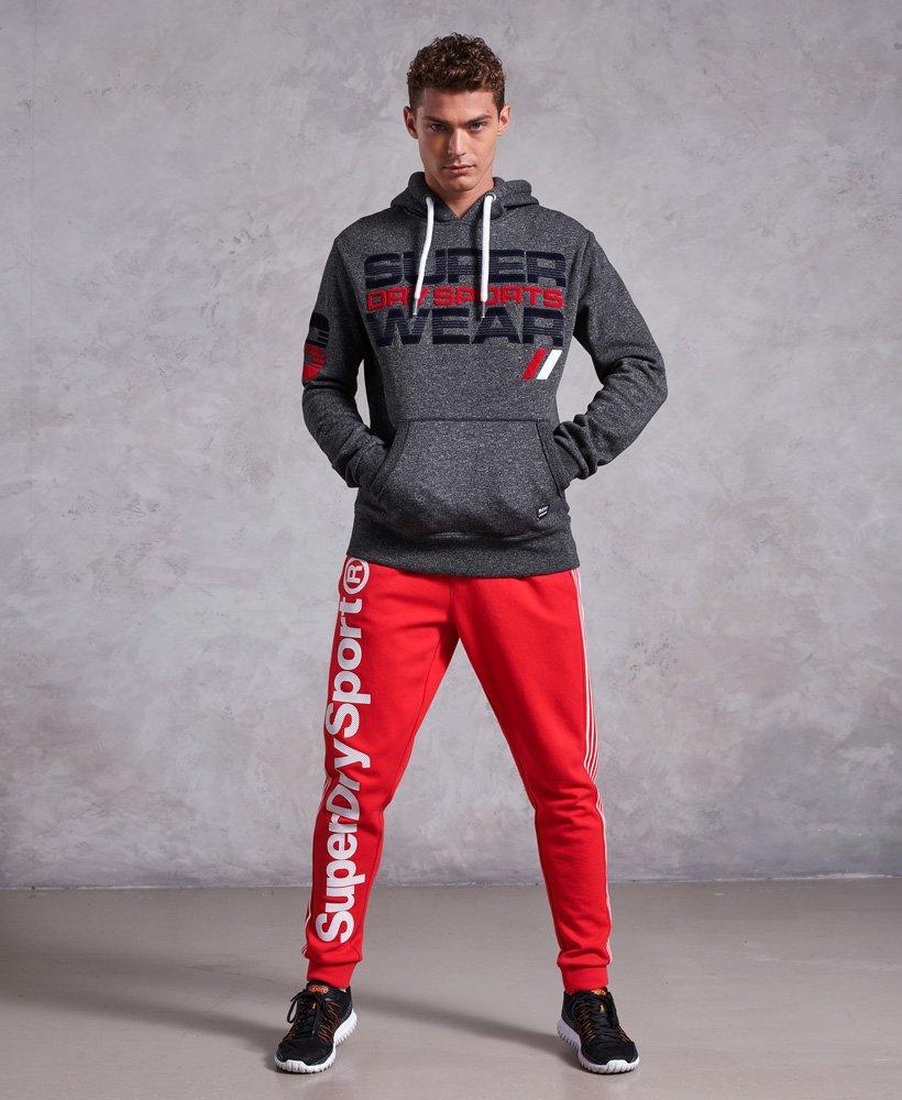 New Men/'s Superdry Sportswear Speed Hoodie Medium Dark Grey Grit £59.99