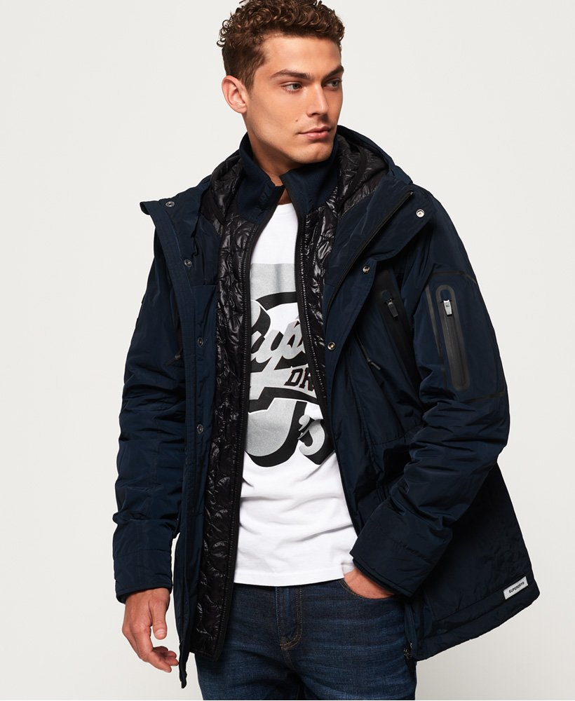 Superdry Vessel Parka Jacket thumbnail 1