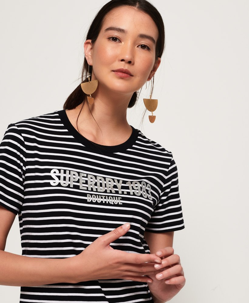 Superdry Ava Stripe T-Shirt thumbnail 1