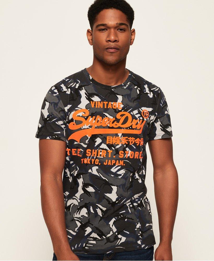 Superdry Shirt Shop Camo T-Shirt thumbnail 1