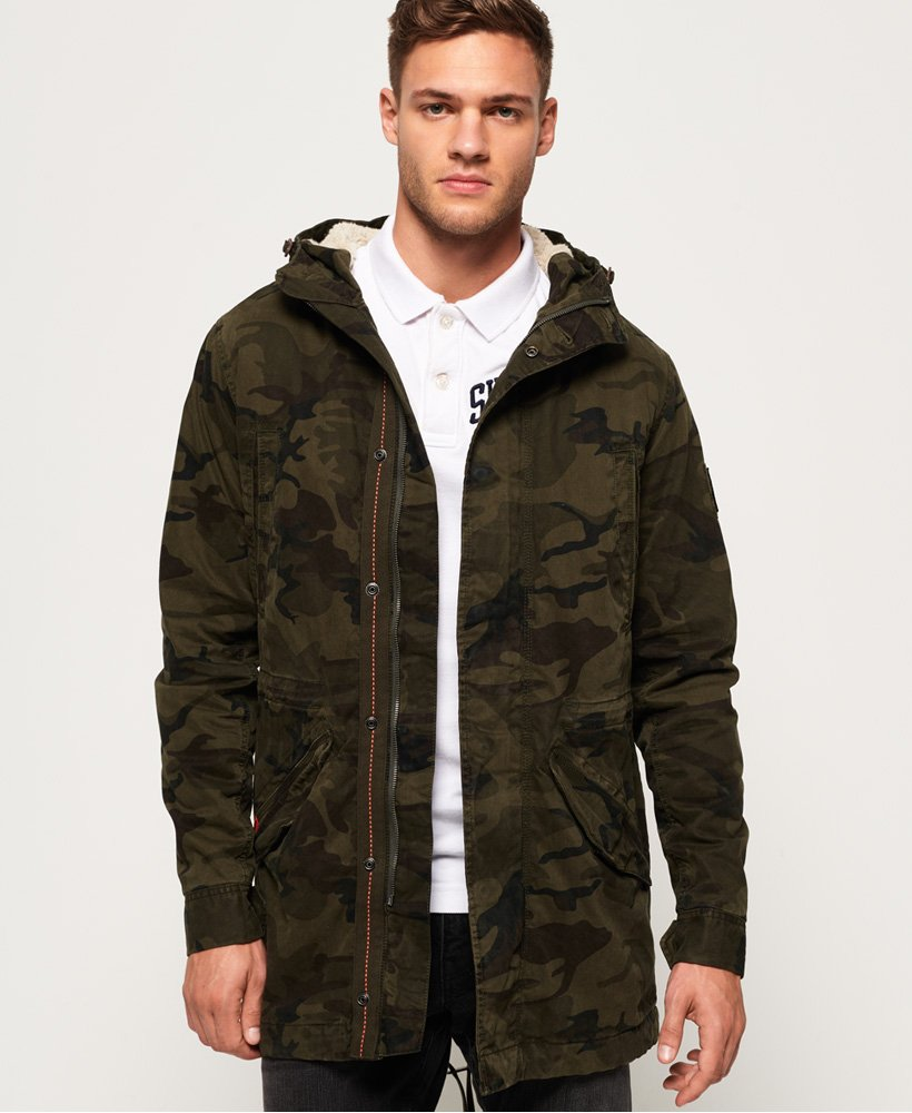 Superdry Military Parka Jacket thumbnail 1