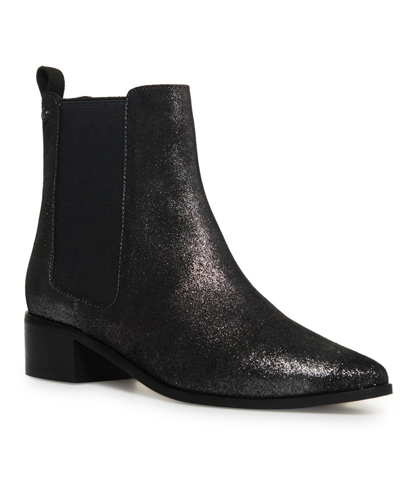 Superdry Zoe Quinn High Chelsea Boots thumbnail 1