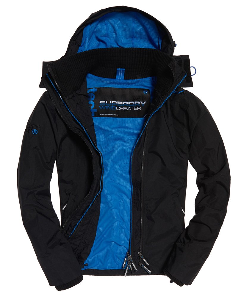 Superdry Technical Pop SD-Windcheater jas met rits en capuchon