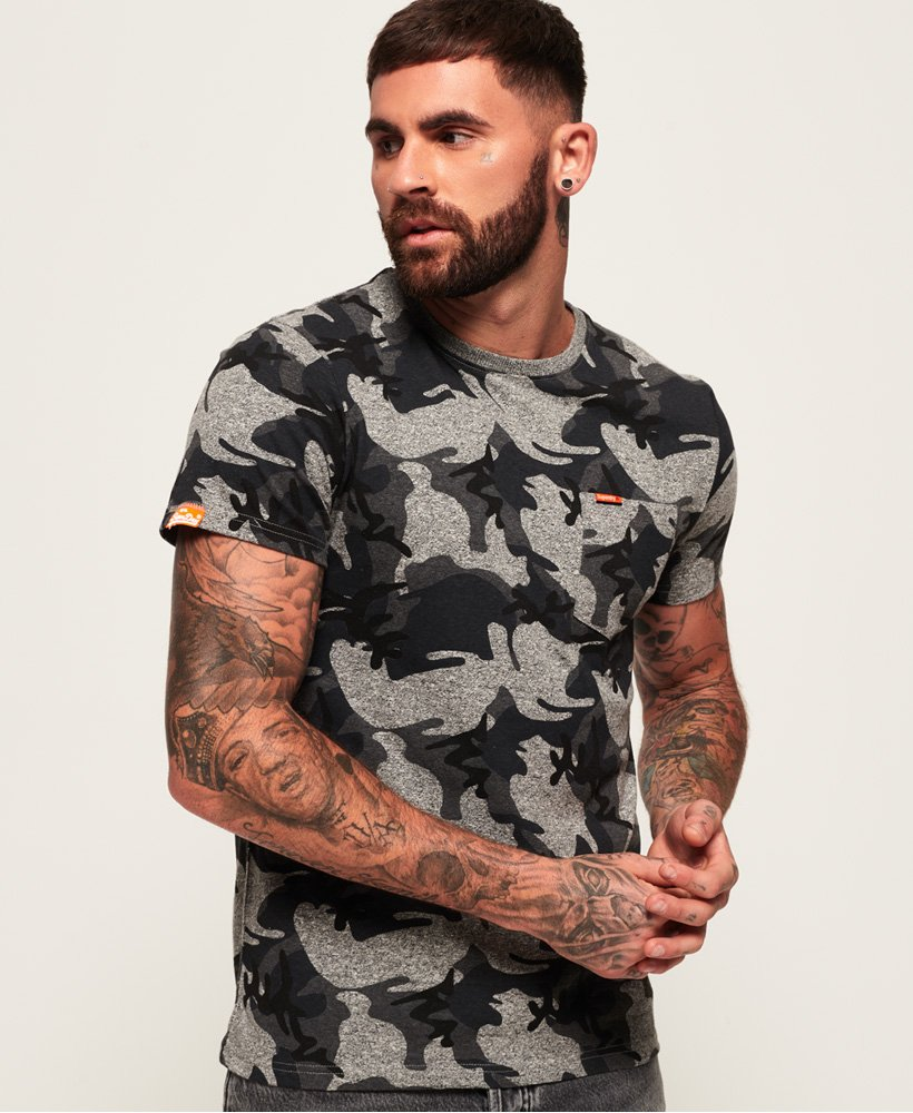 Superdry Orange Label Camo Pocket T-Shirt thumbnail 1