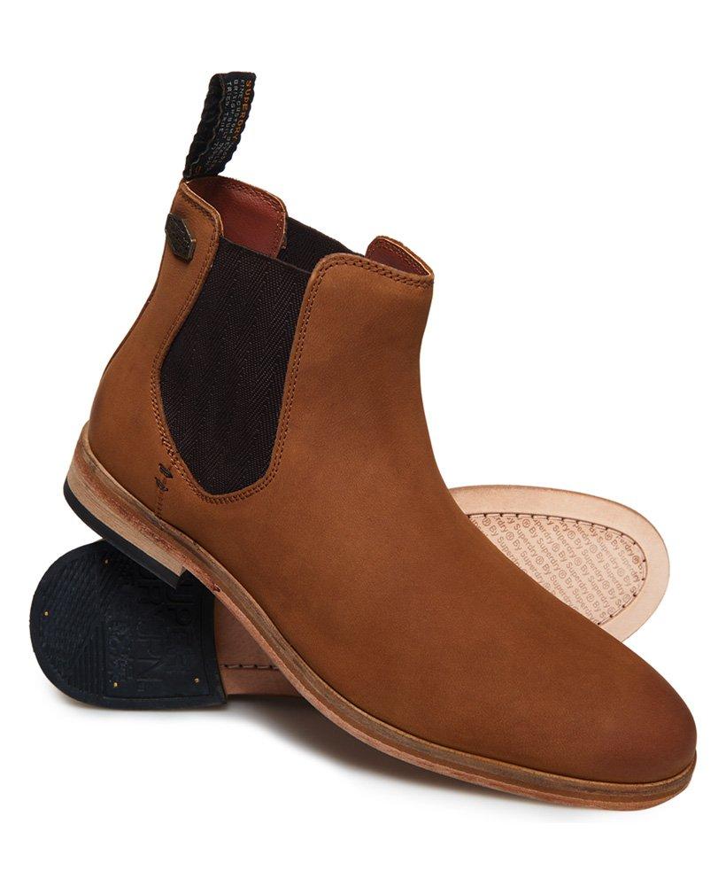 Superdry Mens Premium Meteora Chelsea Boots