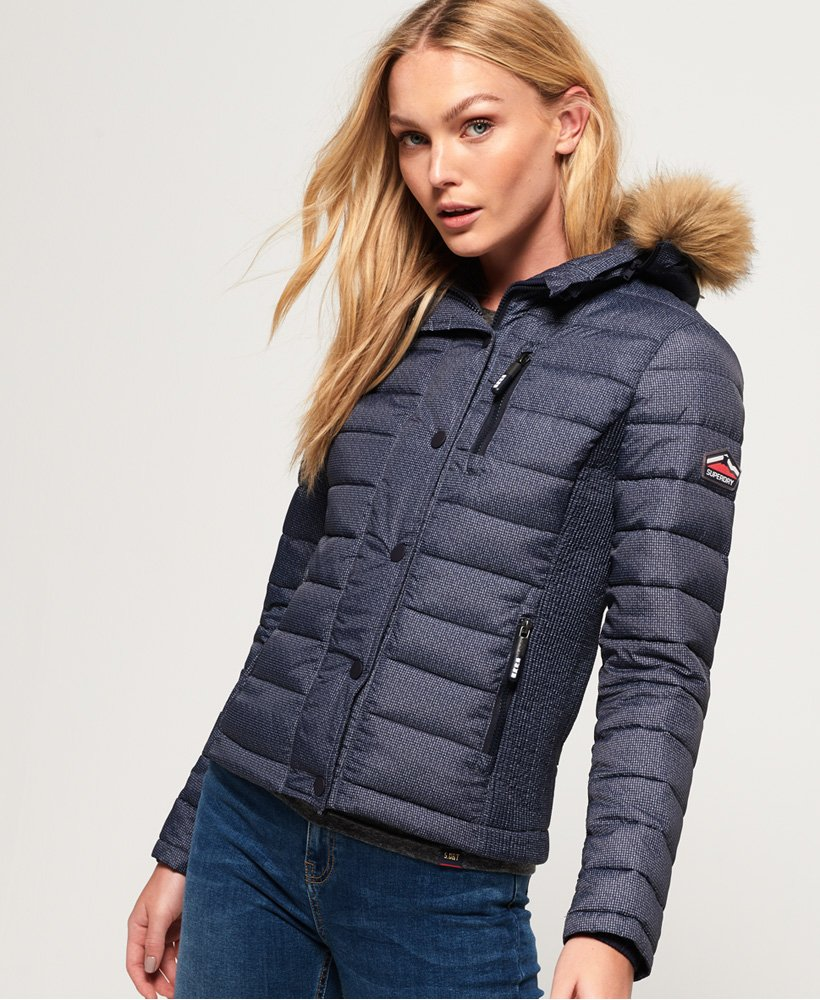 Superdry Fuji Slim Double Zip Hooded Jacket