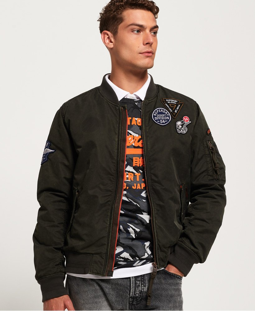Superdry Limited Issue Flight Bomber Jacket thumbnail 1