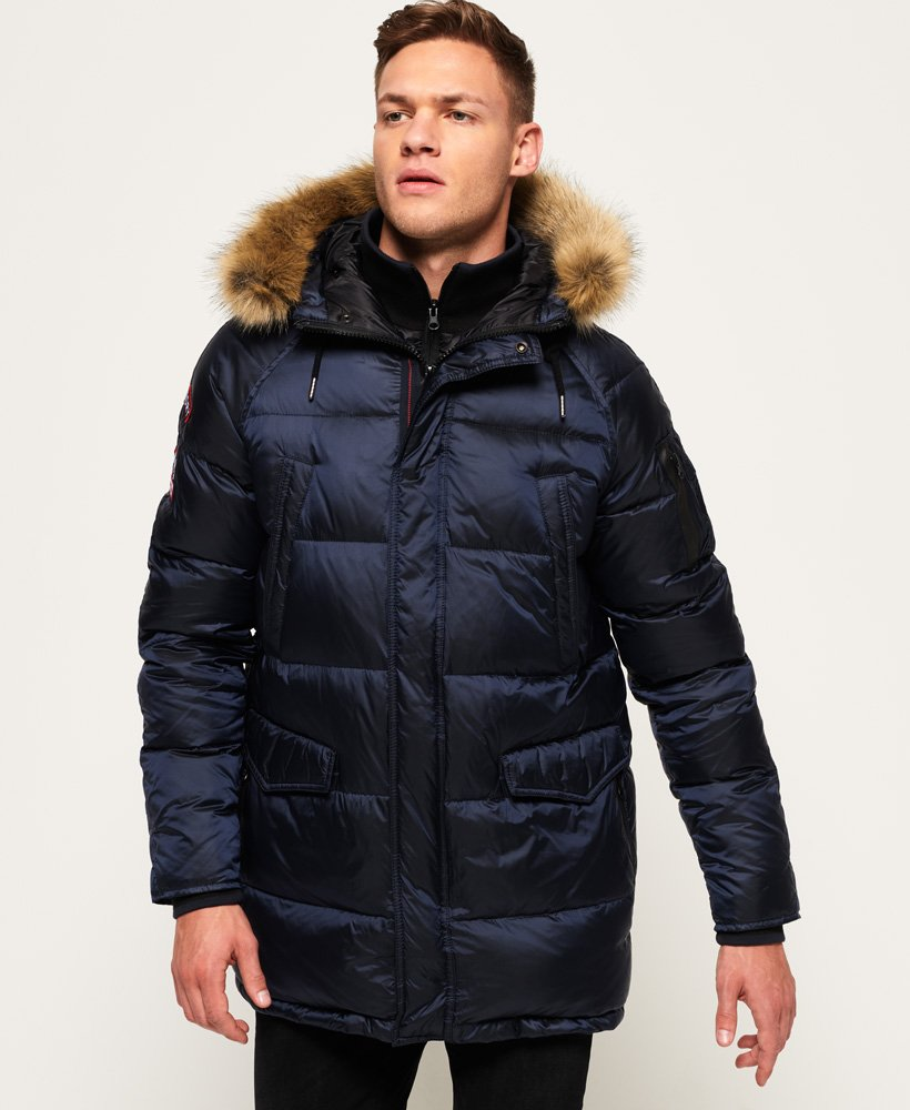 Superdry Down SDX Parka Jacket thumbnail 1