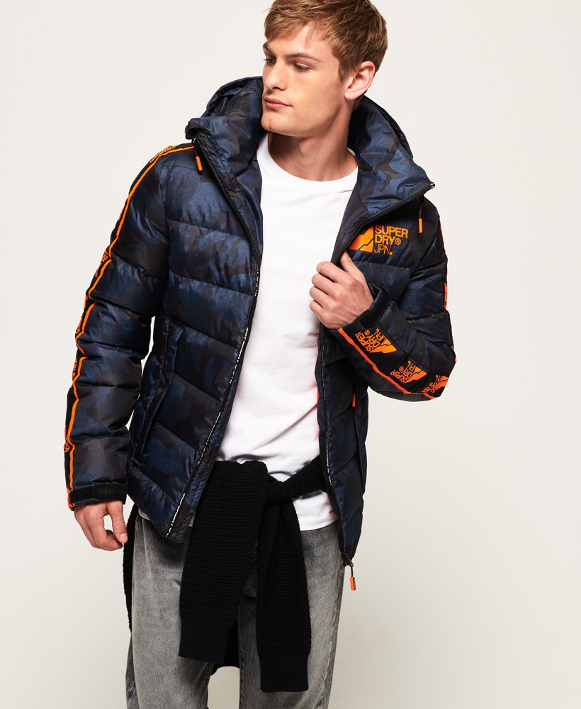 Superdry Glacial Utility Puffer Jacket thumbnail 1