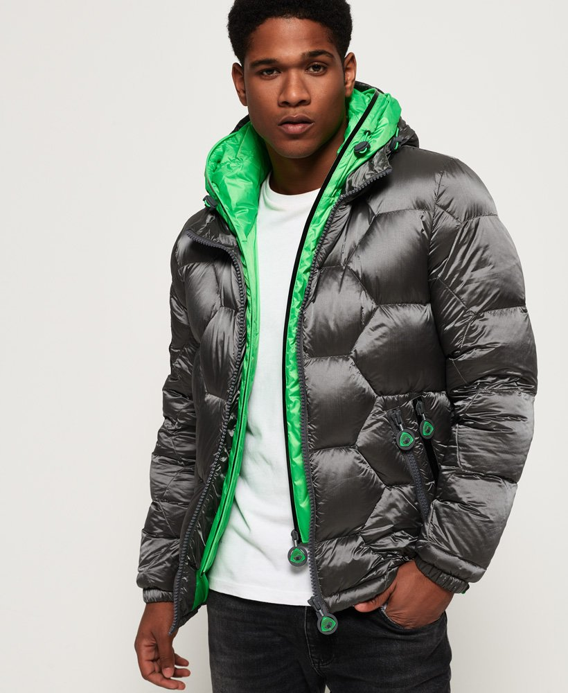 Superdry Hex Tech Racer Down Puffer Jacket thumbnail 1