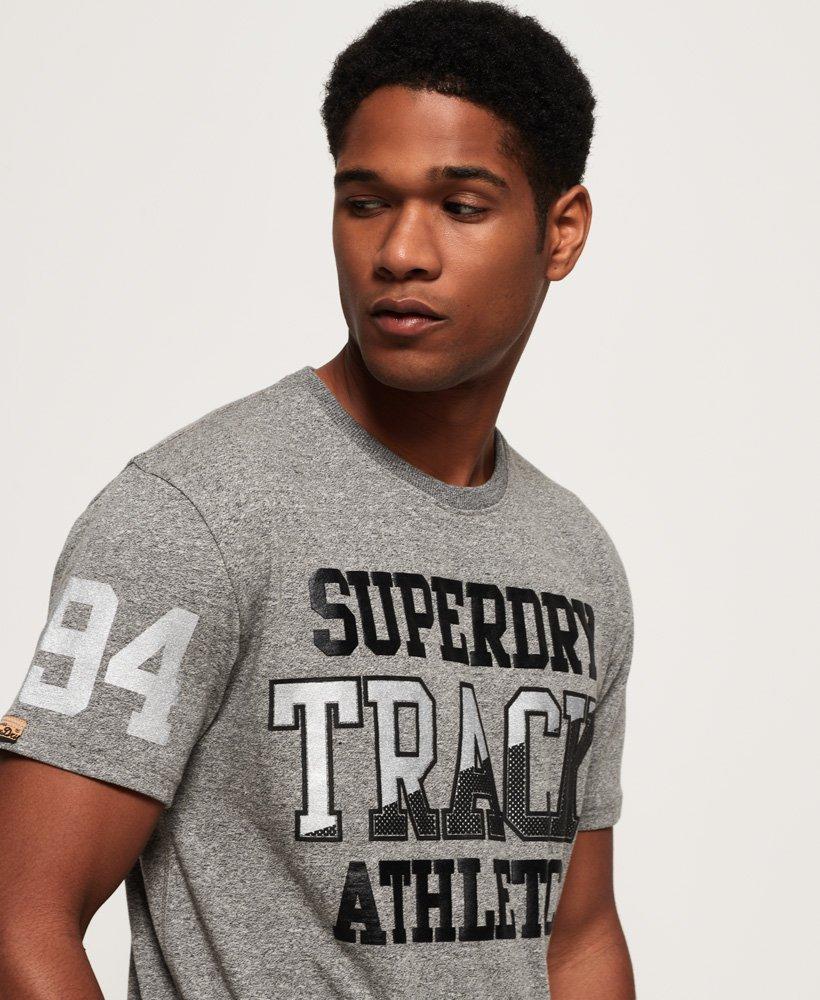 Superdry Super Track Metallic Box Fit T-Shirt thumbnail 1