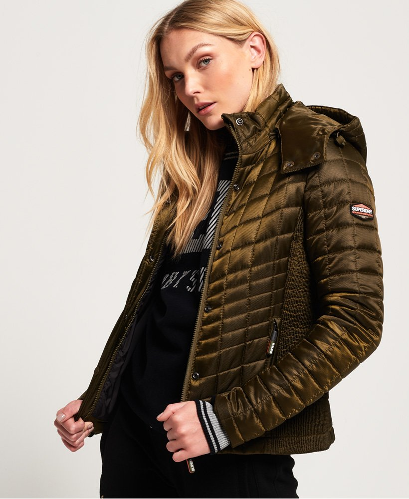 Superdry Nova Box Quilt Fuji Jacket  thumbnail 1