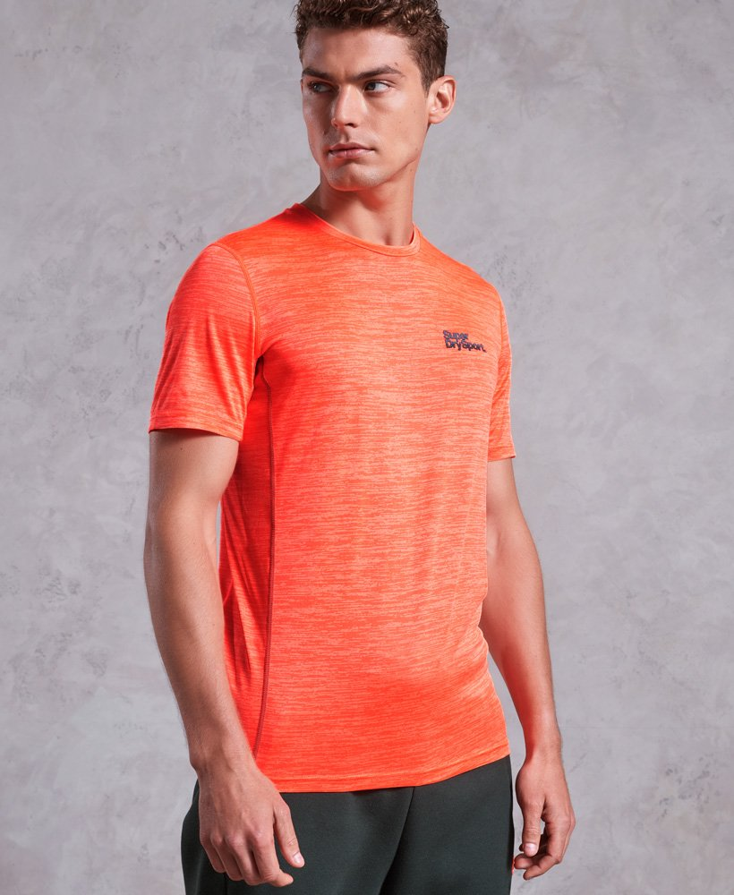 Superdry Active Trainings-T-Shirt mit kurzen Ärmeln thumbnail 1