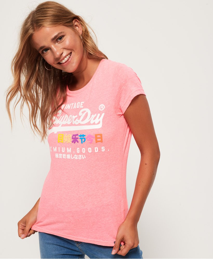 Superdry T-shirt bouffant Premium Goods thumbnail 1