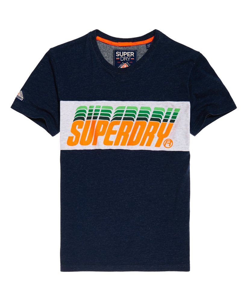 Superdry Triple Drop Pop Panel T-Shirt
