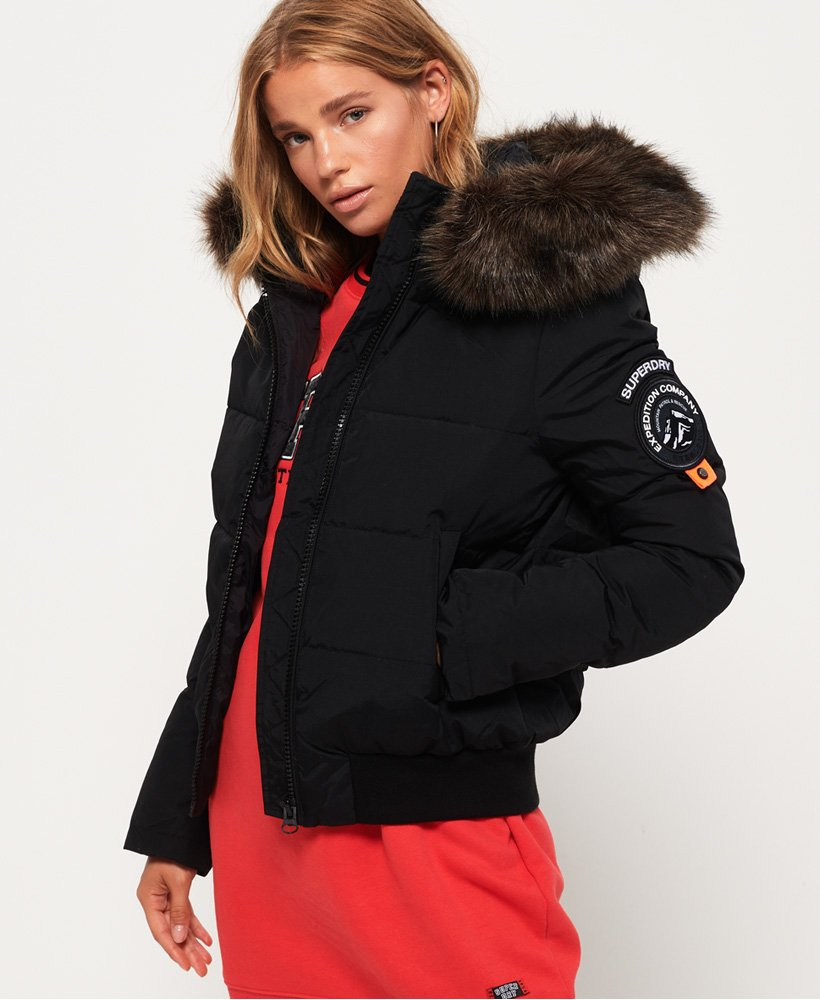 Superdry Everest Ella Bomber Jacket Women's Jackets and Coats