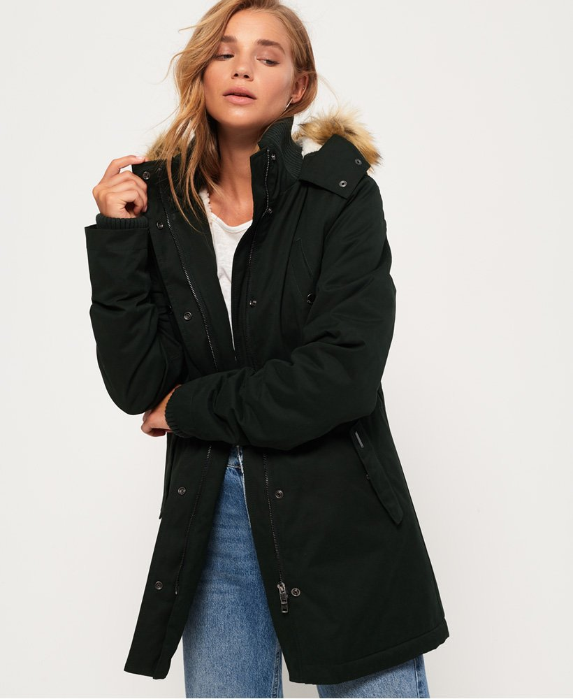 Superdry Model Microfibre Jacket thumbnail 1