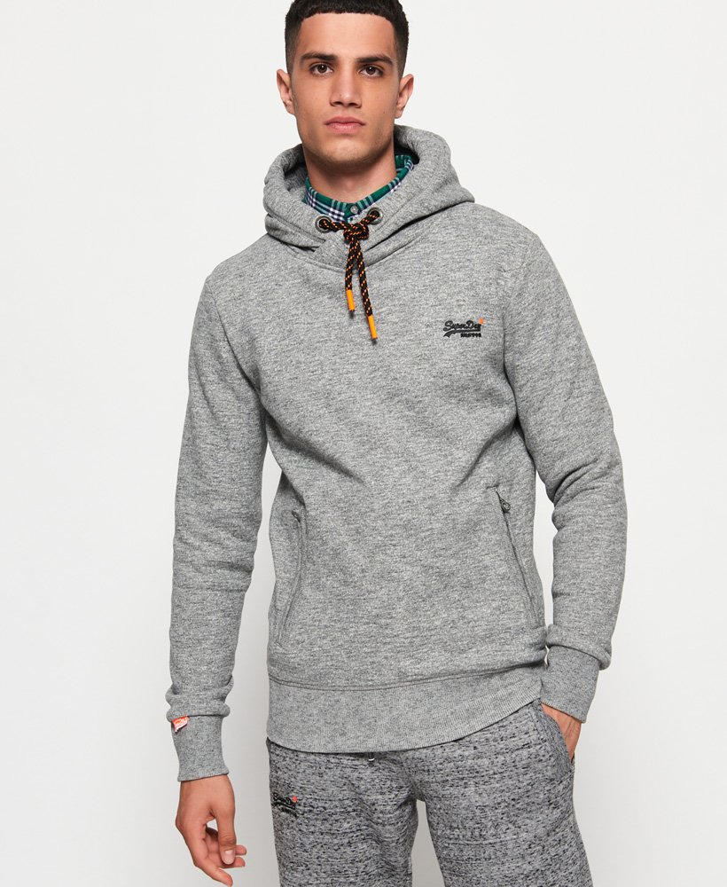 Superdry Sweat à capuche Hyper Pop Orange Label pour Homme 2b1c700a2e25