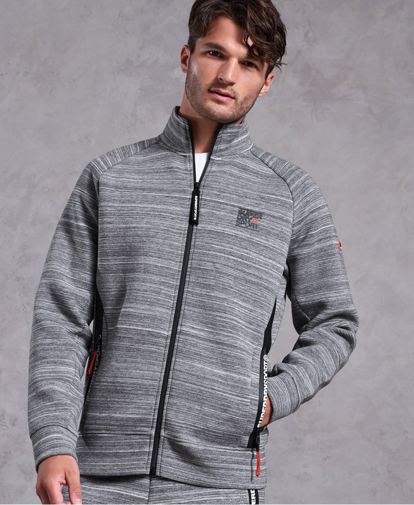 Superdry Gym Tech Stretch Track Top thumbnail 1