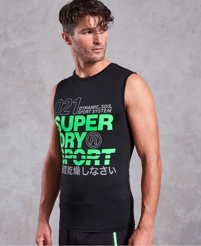Superdry Active Graphic Tank Top thumbnail 1