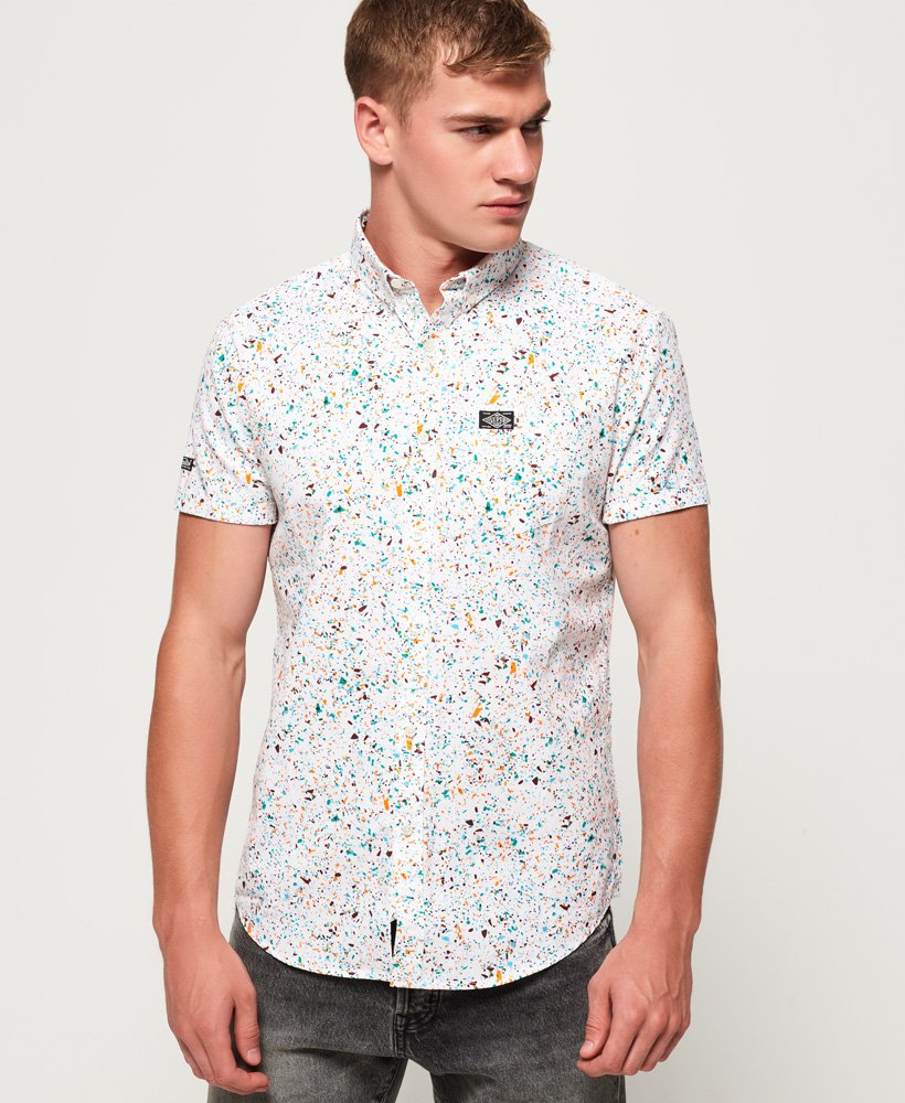 Superdry Shoreditch Short Sleeve Button Down Shirt thumbnail 1