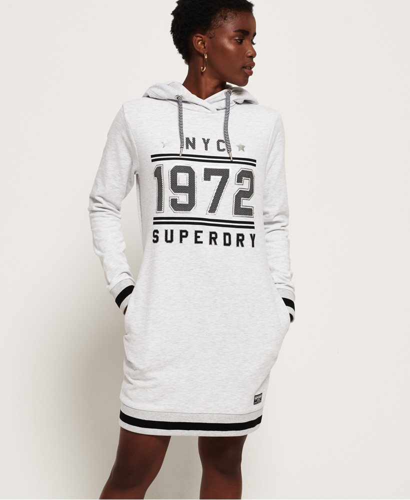 Superdry Tokyo Hooded Sweat Dress thumbnail 1