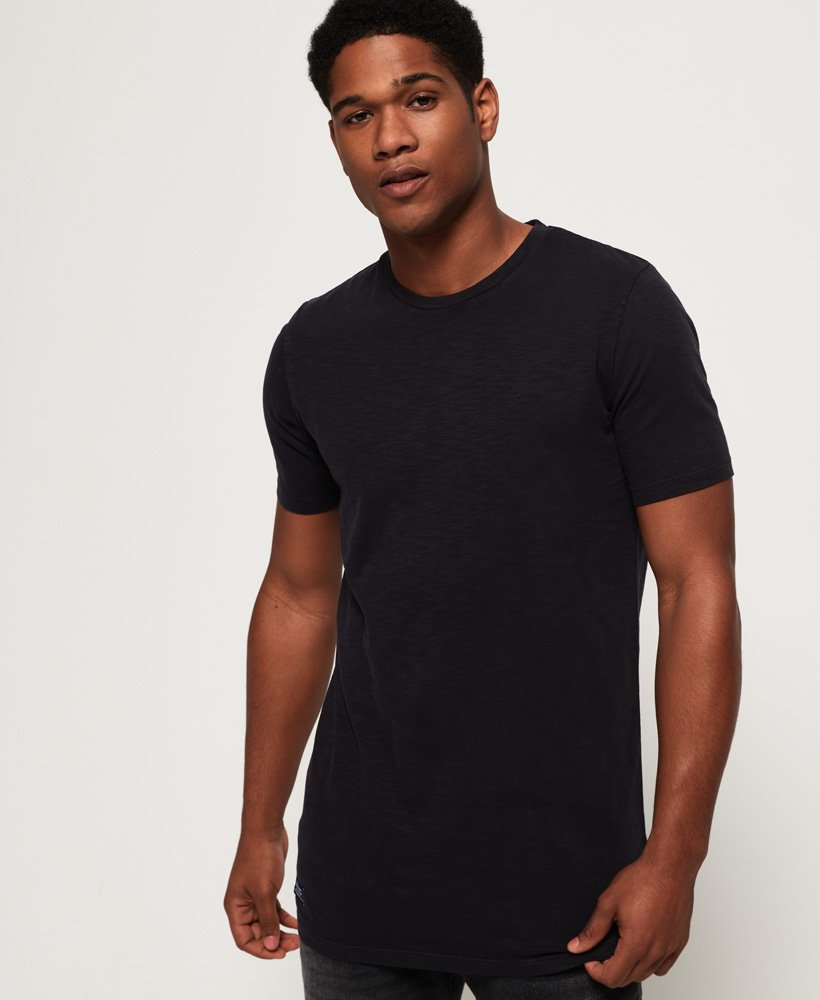 Superdry Dry Originals Longline Short Sleeve T-Shirt thumbnail 1