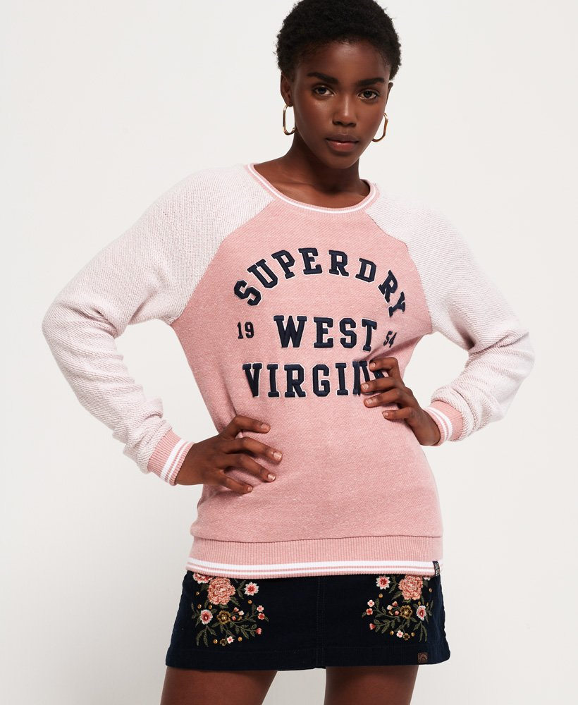 Superdry Avia Reversed Crew Jumper thumbnail 1