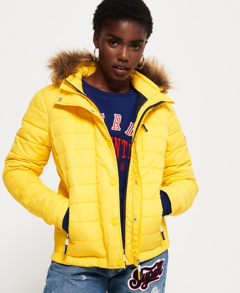 Superdry Fuji Slim Double Zip Hooded Jacket thumbnail 1
