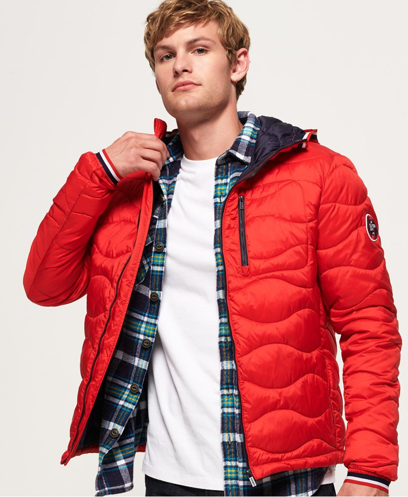 Superdry Wave Quilt Jacket  thumbnail 1