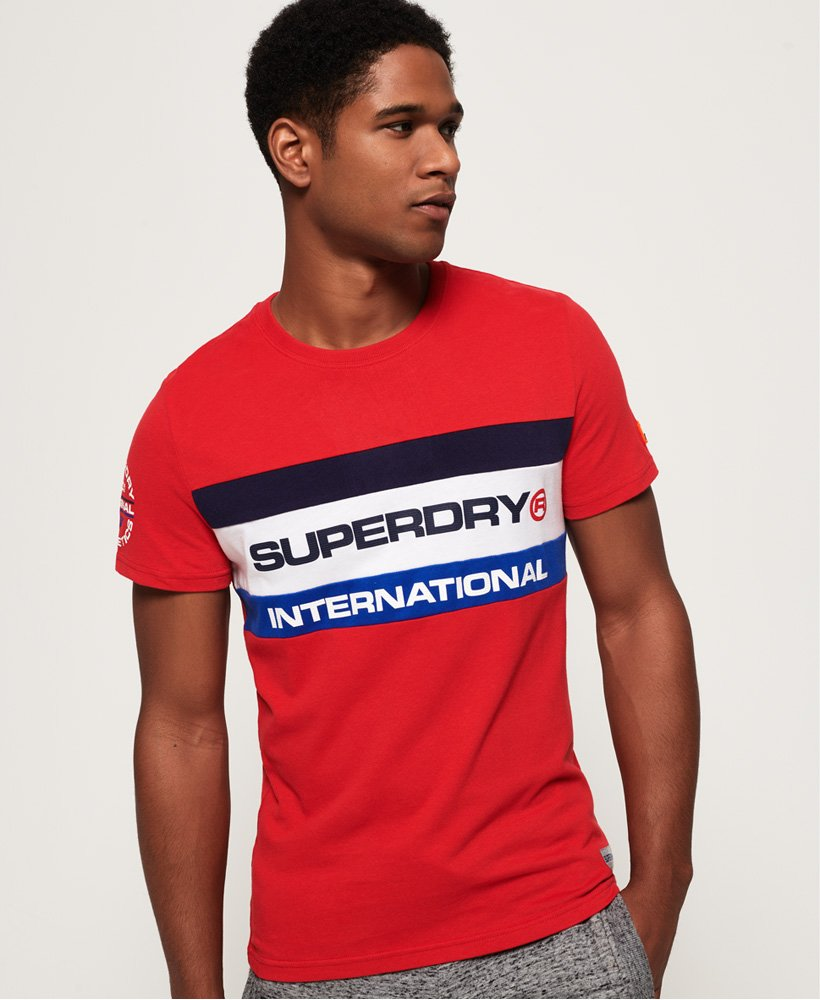 Superdry Trophy Tri Colour T-Shirt thumbnail 1