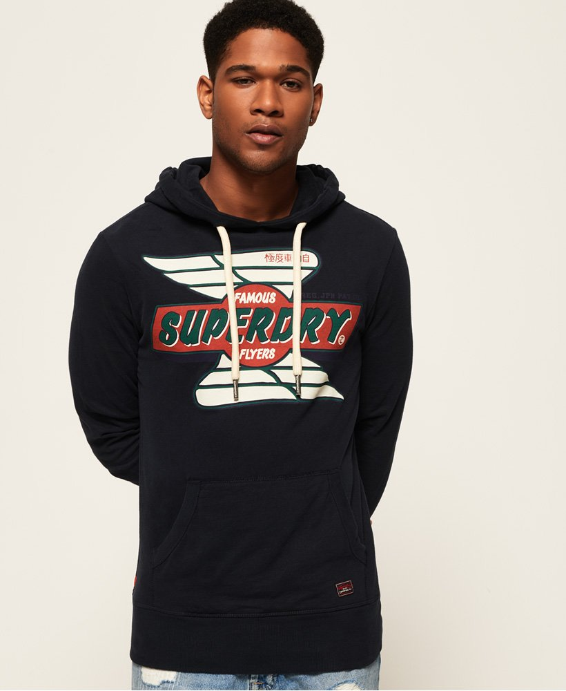 Superdry Real Trade Mark Lite Weight Hoodie