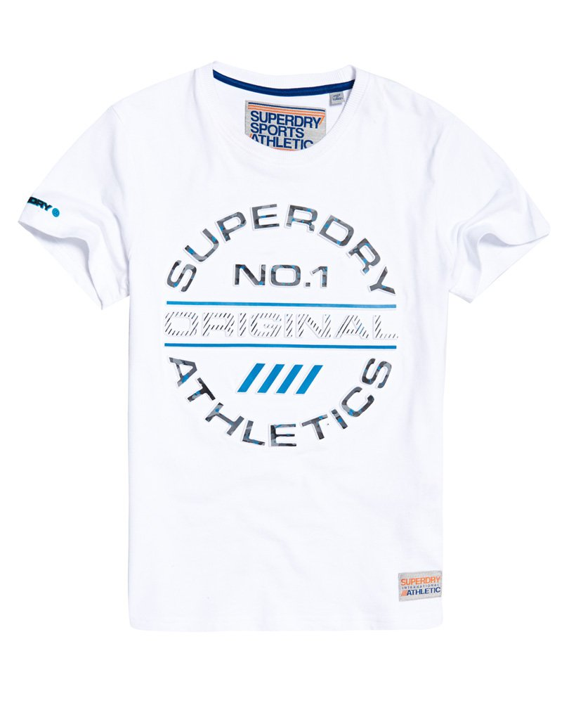 Superdry Trophy Original Splat T-shirt - Herrer T-shirts 57bbc549e4