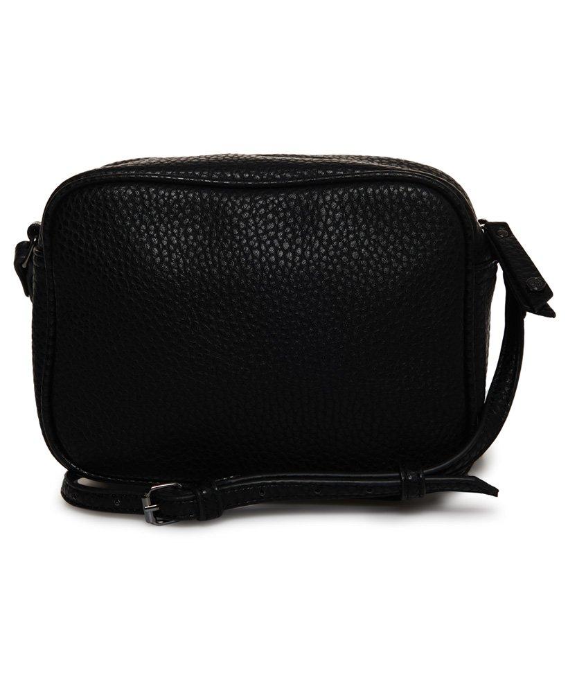 269bf89e1 Womens - Delwen Star Cross Body Bag in Black/rose Gold | Superdry