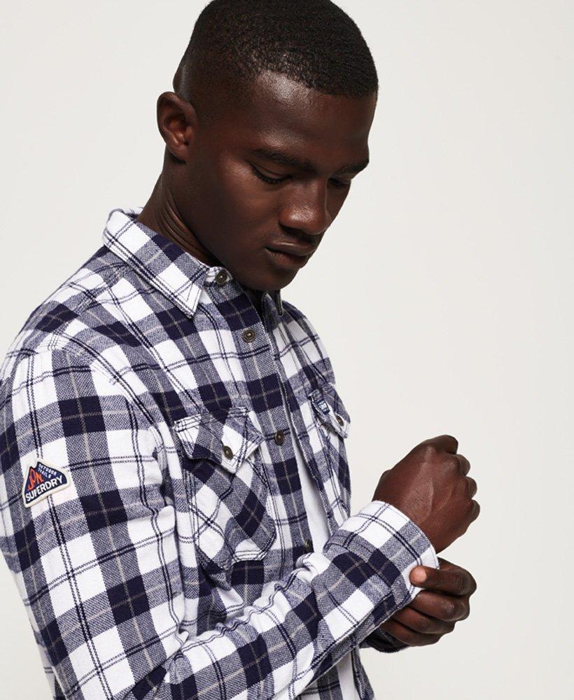 ed4933cf68 Mens - Rookie Ridge Shirt in Broken Twill White