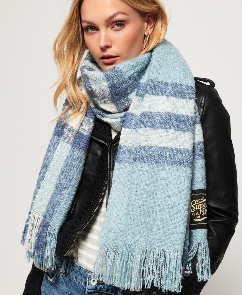 Superdry Super Orkney Scarf thumbnail 1