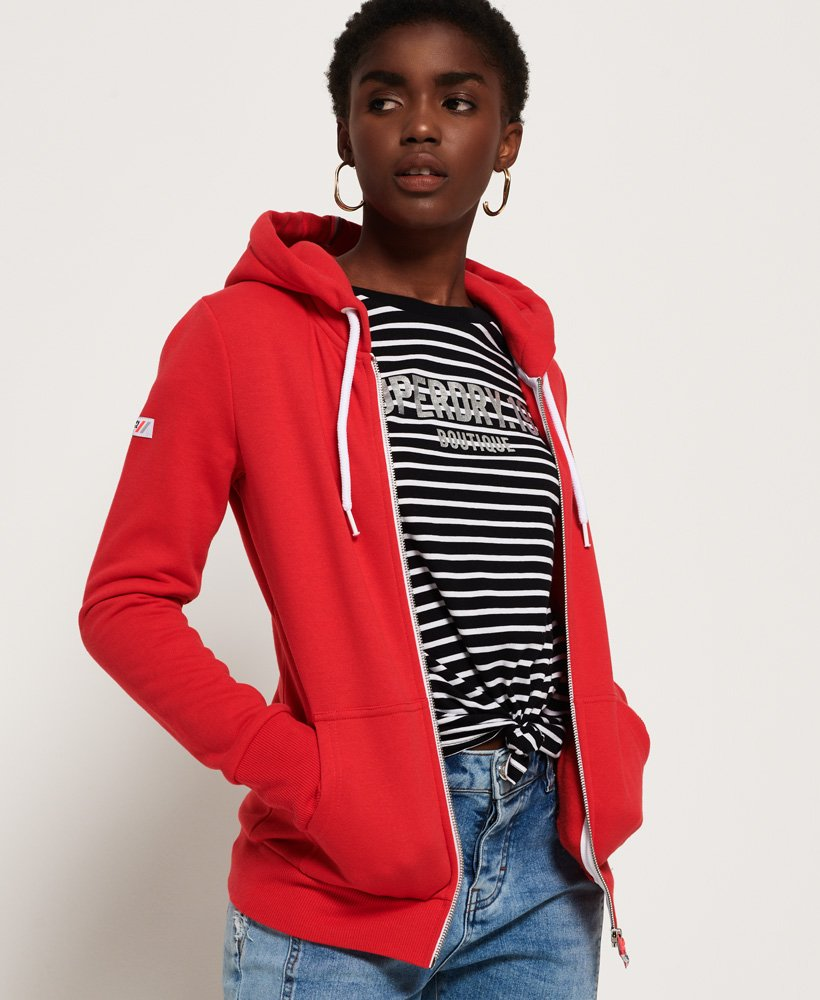 Superdry LA Athletic Zip Hoodie thumbnail 1