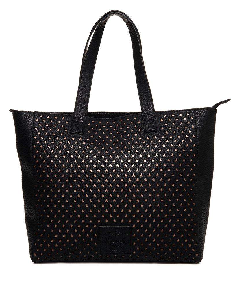 Superdry Elaina Star Perforated Tote Bag thumbnail 1