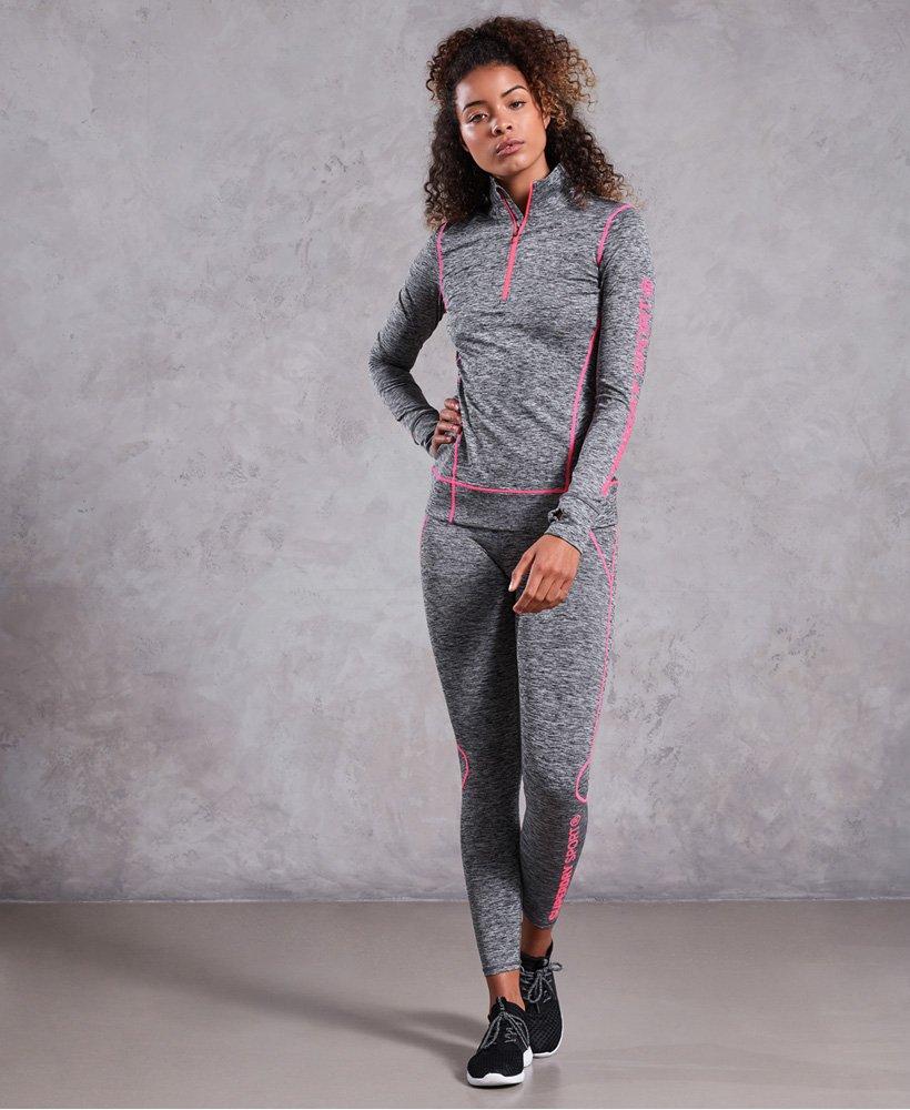 Superdry Womens Performance Compression Flock Vest Top