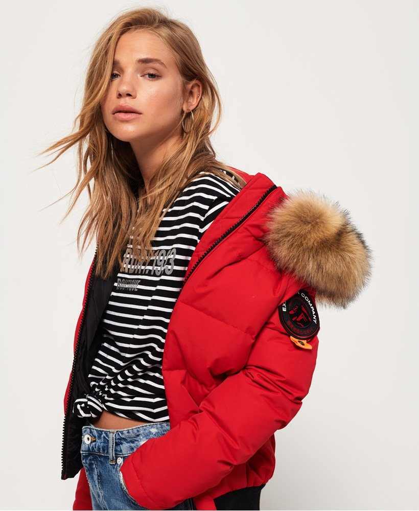 competitive price 84562 40d3f Superdry Everest Ella Bomberjacke - Damen Jacken & Mäntel