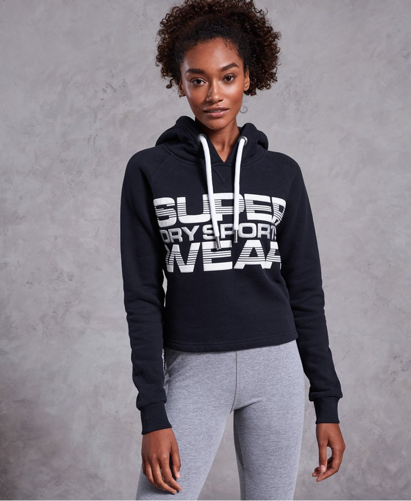 Superdry Block Repeater Diagonal Hoodie thumbnail 1