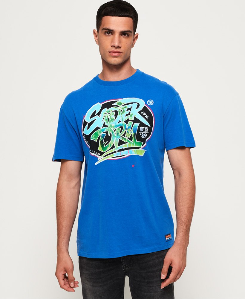 Superdry Acid Pacifica Boxy T-Shirt thumbnail 1
