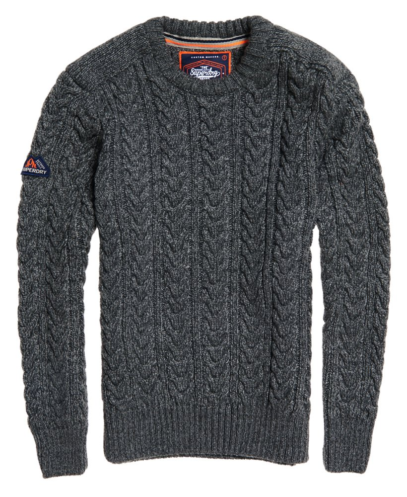 Superdry Jacob genser med rund hals | ricciano NORGE